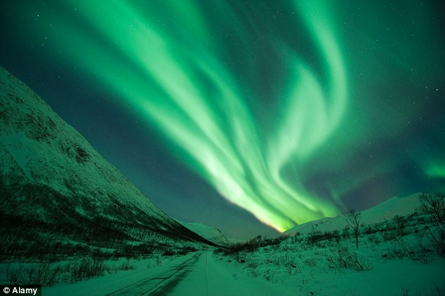 The Aurora Borealis or northern lights that usually can be viewed only in the far north will dip south. Forecasters said early Tuesday, before sunrise, auroras were already seen in the northern tier of the U.S., such as Washington state, North Dakota, South Dakota, Minnesota and Wisconsin.