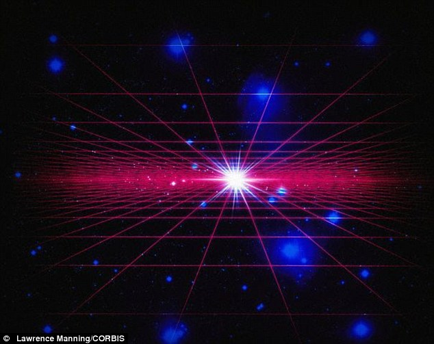 In the multiverse, pictured above, parallel universes could exist, with time running in opposite directions.A pair of scientists from the California Institute of Technology and the Massachusetts Institute of Technology have developed a model to explain how this could happen based on simpler principles than previously examined