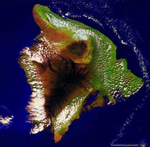 Proba-V view of Hawaii