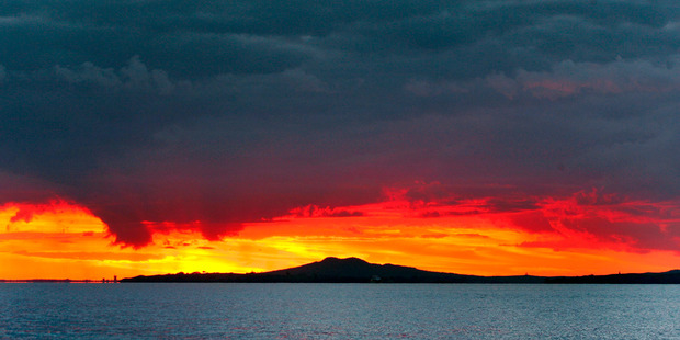 The explosive history of Auckland's largest volcano has again been rewritten. Photo / Brett Phibbs