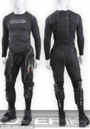 Batman's suit is fitted with cutting-edge features that helps the caped crusader fight crime, but Superflex was developed for soldiers and the elderly.  Since the suit only kicks the power on when the wearer needs it, it has a much longer battery life compared to those that are constantly in motion or powered