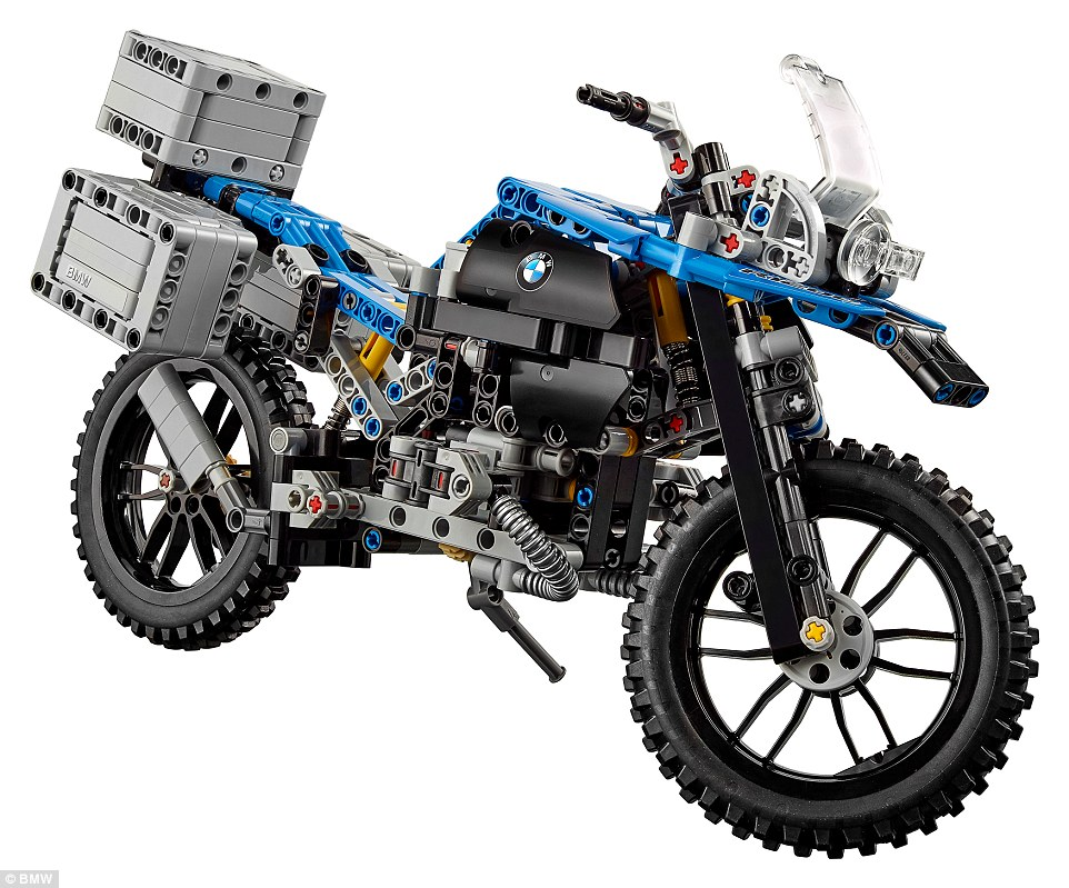 The BMW R 1200 GS Adventure Lego replica was launched in January, as part of a challenging 603 piece build. It is the first Lego model to be created in cooperation with the motorcycle manufacturer