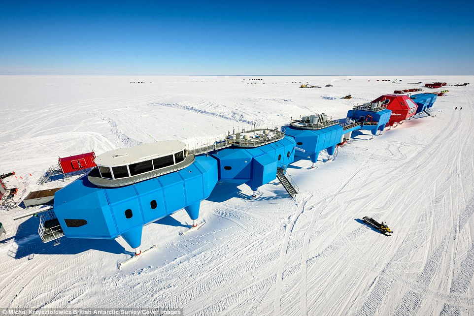 The Halley VI Research Station was successfully relocated across the Brunt Ice Shelf, amid fears in could slide into an encroaching fissure