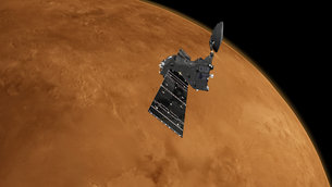 The ExoMars Trace Gas Orbiter is on a multiyear mission to understand the tiny amounts of methane and other gases in Mars' atmosphere that could be evidence for possible biological or geological activity.