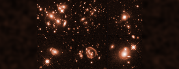 Jackpot! Cosmic Magnifying-Glass Effect Captures Universe's Brightest  Galaxies