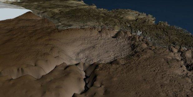 hiawatha glacier crater