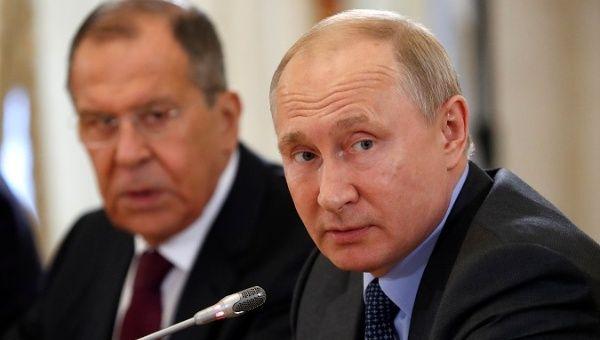 Russian President Putin, speaks at the St. Petersburg International Economic Forum (SPIEF 2019) in St. Petersburg, Russia June 6, 2019.